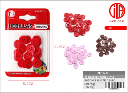 BUTTON 24 24PCS