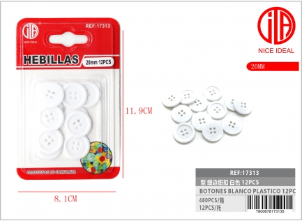 BUTTON 32 12PCS