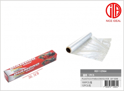 PLASTIC FOR WRAPPING 30 * 30M