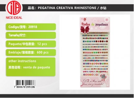 CREATIVE STICKER RHINESTONE
