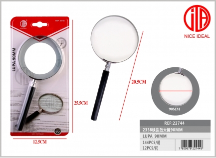 Iron side magnifying glass 90MM