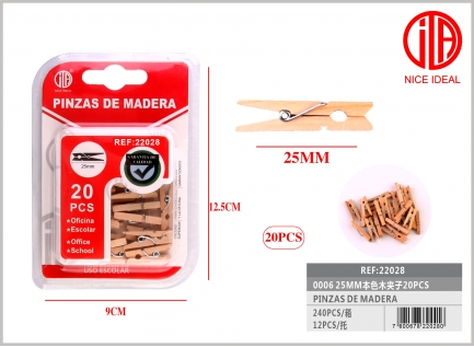2CLIP WOOD 5MM
