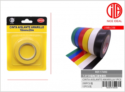 YELLOW ELECTRICIAN TAPE 1.8 * 20