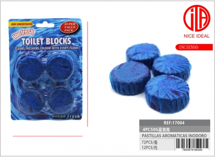 BLUE BUBBLES 4PC50G